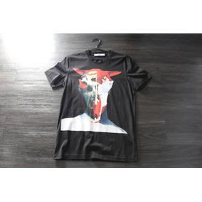 Camiseta Givenchy Skull/demon Tamanho P Com Nota Fiscal.