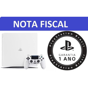 Console Ps4 Slim 500gb Branco Hdr Sony - Nota Fiscal -anatel