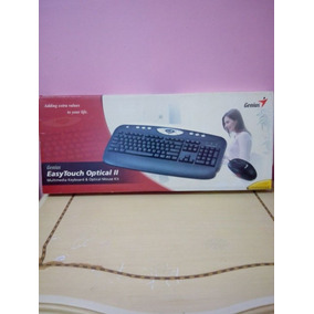 Teclado/mouse Genius Easy Touch Optical Ii