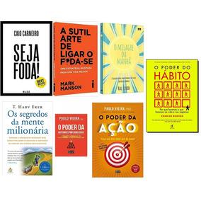 Seja Foda! + O Milagre Da Manhã + A Sutil Arte + 4 Livros