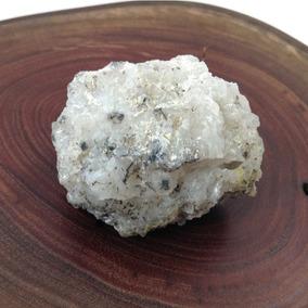 Geoda Blanca Con Ágata Y Cristales Cuadrados Colección Gbm
