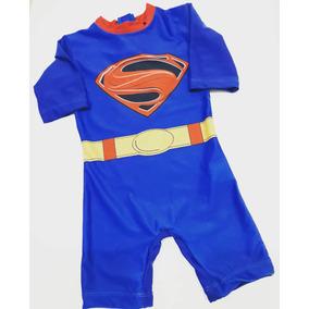 Conjunto Bebe Superman Body Shorcito Capa Gorrito. Buenos Aires · Traje De  Baño Superman 9be10013d8c