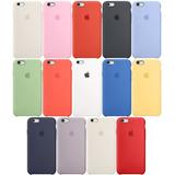 Carcasa Apple Silicona Original iPhone 6/7/8/x/xs/xr/plus