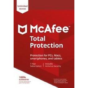 Mcafee Total Protectio 1 Ano Ilimitados Dispositivos.. Leia!