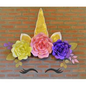 Flores De Unicornio Gigantes Arte Y Artesanias En Mercado Libre