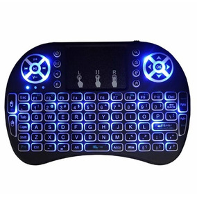 Mini Teclado Com Led Sem Fio Usb Pc Tv Box Ps3 Xbox