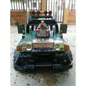 Jeep Electrico Militar Para Niños
