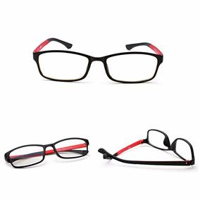 ee55d755afc02 Caixinha Para Oculos De Grau - Óculos Vermelho no Mercado Livre Brasil