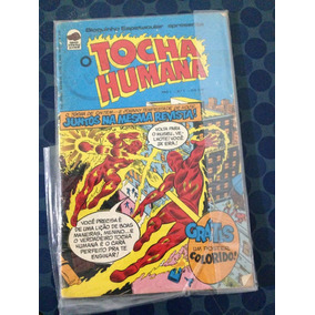 O Tocha Humana - Ano 1 - Nº1 - Bloch Infanto Juvenil 1975