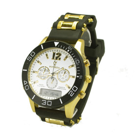 1e5a29e41be Relogio Potenzia Apiu Masculino - Relógio Masculino no Mercado Livre ...