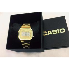 0c867804dcd Relogio Casio Dourado - Relógio Casio Feminino no Mercado Livre Brasil