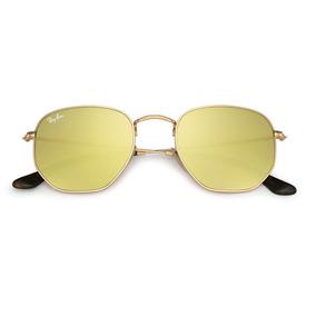 6df59c2170f35 Óculos Hexagonal Lente Amarela - Óculos De Sol no Mercado Livre Brasil