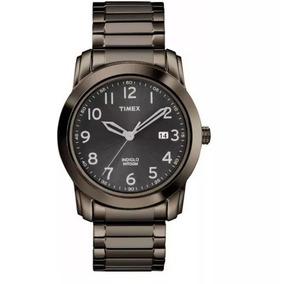 Relógio Timex Masculino Highland Street T2p1359j Metal Cinza