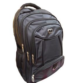 Mochila Nylon Impermeavel Casual Unissex Com Porta Notebook