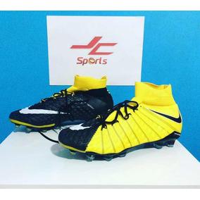 ad8c573a74 Chuteira Nike Hypervenom Phantom Laranja E Preto - Chuteiras Nike no ...