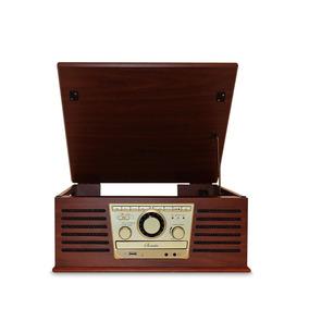 Vitrola Raveo Sonata Bt - Toca-discos, Cd Player, Radio Fm