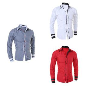 Camisa Masculina Social Slim Fit Preço Promocional Aproveite · 3 cores. R   69 8a76a948ec431