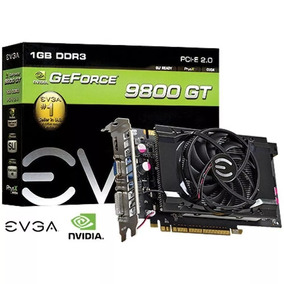 Placa De Video Geforce Gt 9800 Ddr3 1gb 256 Bits Evga - Hdmi