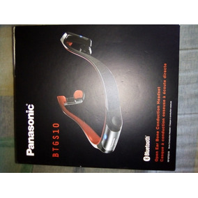 Headphone Panasonic Rp-btgs10 Bluetooth