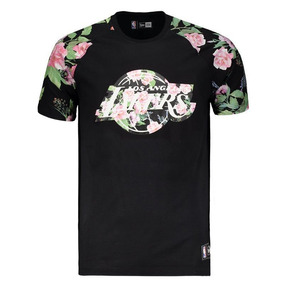 095e8df5671b5 Camiseta New Era Nba Los Angeles Lakers Floral