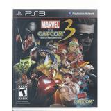 Marvel Vs. Capcom 3 Fate Of Two Worlds Ps3 Disco Como Nuevo