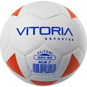 82cba345ae1a9 Bola Futsal Vitoria Brx 40 Sub 7 (3 A 6 Anos) Baby Max 40