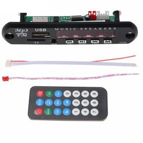 Modulo Decodificador Mp3 Usb Sd Card Fm Control 12v Mod747d