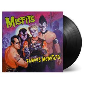 Misfits Lp Famous Monsters 2018 Vinil Preto Black Vinyl