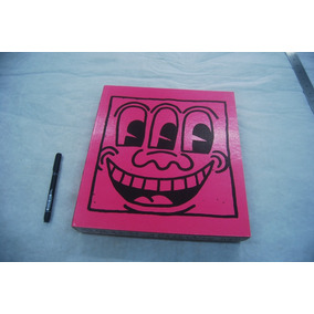 Livro Em Grande Formato Keith Haring Ed. Rizzoli 30x28x5cm