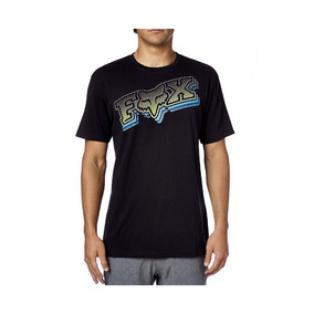 Fox Disolved Playera Tech Negra M, L