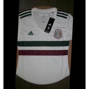 Jersey Blanco De La Seleccion Mexicana Dama en Mercado Libre México 461e65585092a