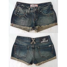 Short Jeans Colcci Tam 34 Novo Super Descolado