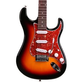 Guitarra Mod Fender Tagima Memphis Mg32 Sunburst Capa Cabo