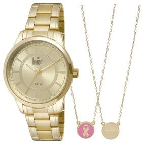 2dafdd7506a10 Relogio Dourado Masculino Dumont - Relógios De Pulso no Mercado ...