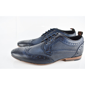 Zapato Pierre Cardin Azul D Diseñador De Hombre Gran Oferta 9ff7ea9956c