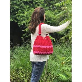 0519c1d53 Bolsa Saco De Croche - Bolsas Vermelho no Mercado Livre Brasil