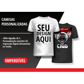 1af41fb08 Sand Lias Para Impressao E Personalizar Tamanho G - Camisetas Manga ...