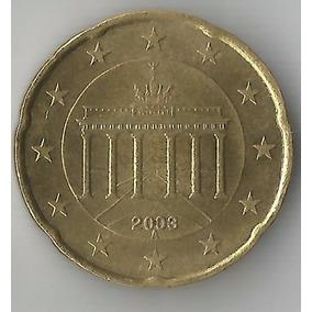 Moeda - Germany Federal Rep - 20 Euro Cent - 2003 - Km# 211