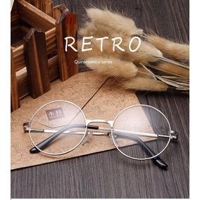 Armação Redonda Estilo Lennon Beatles Para Óculos De Grau - Óculos ... 590b70d1b2