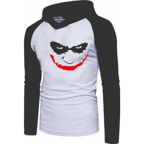 602a88f2b85fd Camiseta Coringa Raglan Manga Longa - Calçados