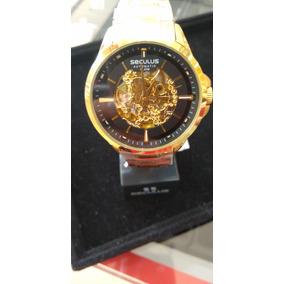 Relogio Seculus Esqueleto - Relógio Seculus Masculino no Mercado ... 826489d866