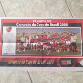 Pôster Jb Do Flamengo Campeão Da Copa Do Brasil 2006