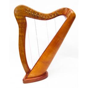 Harpa Celta 12 Cordas Feita A Mao C/levers L.salustriany