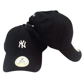 d0917d416fa67 Boné New Era Ny Yankees Preto R Rosa Aba Reta - Bonés no Mercado ...