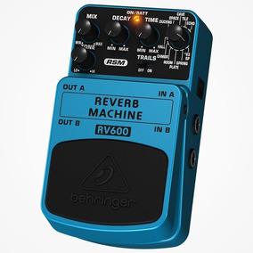 Pedal De Efectos Reverb Machine Rv600 Behringer