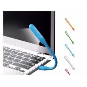 Mini Luminária Luz De Led Abajur Notebook Usb Flexível