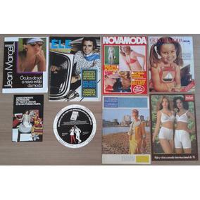 Lote Com 08 Catálogos De Moda, Décadas De 1970 E 80