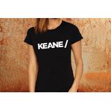 Blusa Feminina Keane Banda Tshirt Camisa D73 fa53fbbe83a90