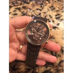 5340b1ca61952 Relogio Armani Exchange Ax1179 Bronze - Relógios De Pulso no Mercado ...