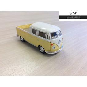 Miniatura Kombi Amarela 13cm Em Metal ! Colecione